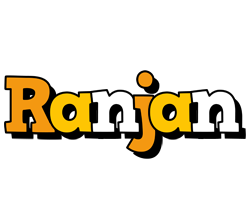 Ranjan cartoon logo