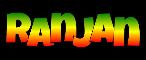 Ranjan mango logo