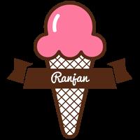 Ranjan premium logo
