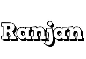Ranjan snowing logo