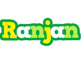 Ranjan soccer logo