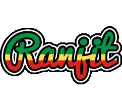 Ranjit african logo