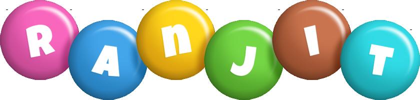 Ranjit candy logo