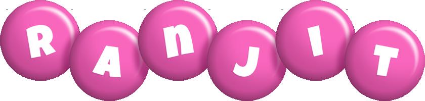 Ranjit candy-pink logo