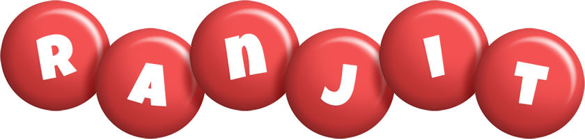Ranjit candy-red logo
