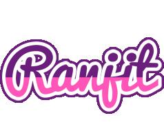 Ranjit cheerful logo