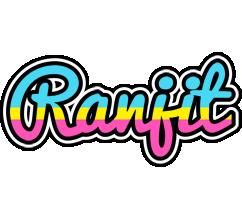 Ranjit circus logo