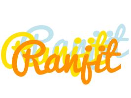 Ranjit energy logo