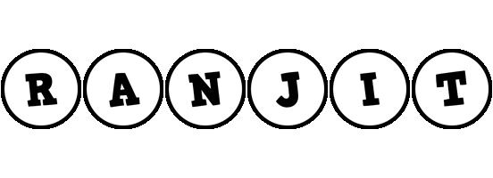 Ranjit handy logo
