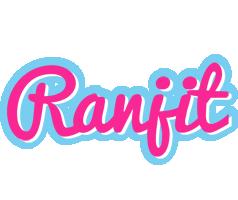 Ranjit popstar logo