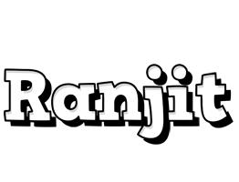 Ranjit snowing logo