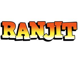 Ranjit sunset logo