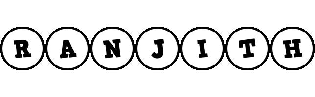 Ranjith handy logo