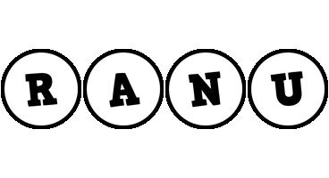 Ranu handy logo