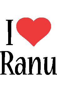Ranu i-love logo