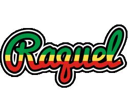 Raquel african logo