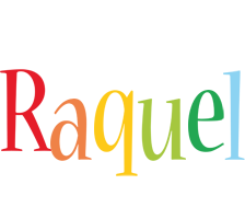 Raquel birthday logo
