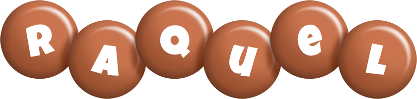 Raquel candy-brown logo