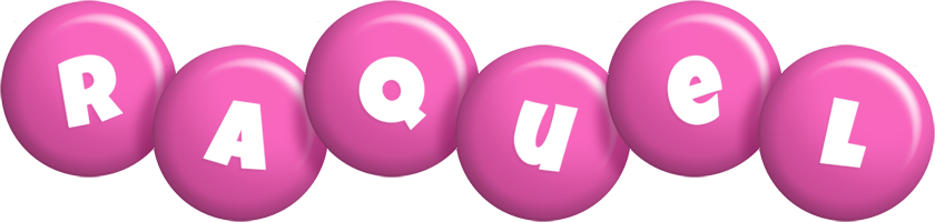 Raquel candy-pink logo