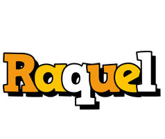 Raquel cartoon logo
