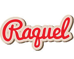 Raquel chocolate logo