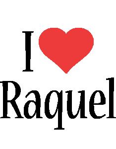 Raquel i-love logo