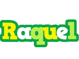 Raquel soccer logo