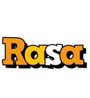 Rasa cartoon logo