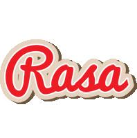 Rasa chocolate logo