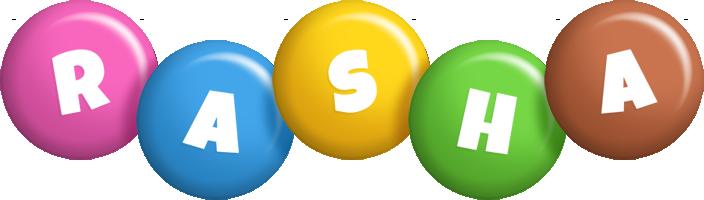 Rasha candy logo