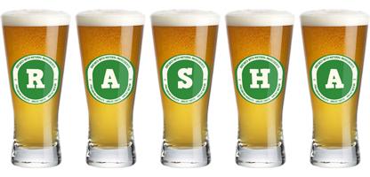 Rasha lager logo