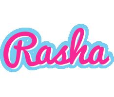 Rasha popstar logo