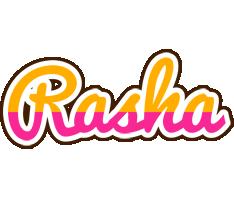Rasha smoothie logo