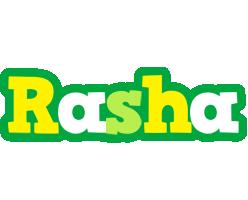 Rasha soccer logo
