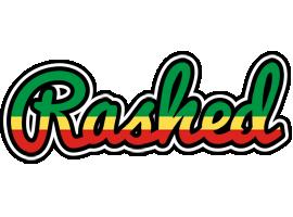 Rashed african logo