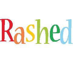 Rashed birthday logo
