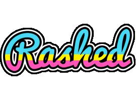 Rashed circus logo
