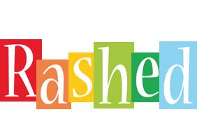 Rashed colors logo