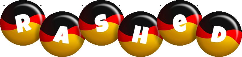 Rashed german logo