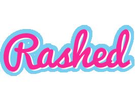 Rashed popstar logo