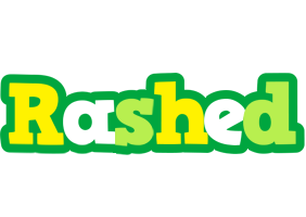 Rashed soccer logo