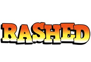 Rashed sunset logo