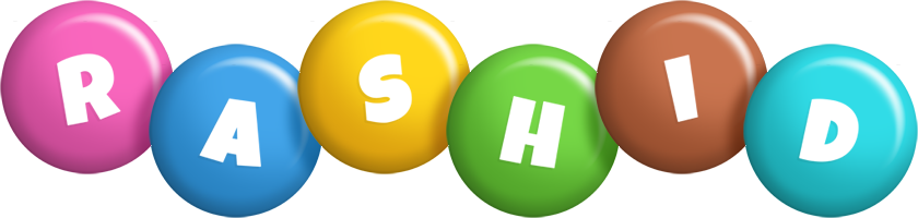 Rashid candy logo