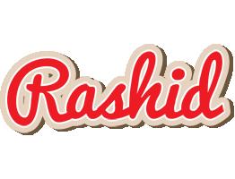 Rashid chocolate logo
