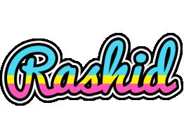 Rashid circus logo