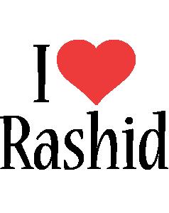 Rashid i-love logo