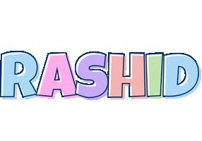 Rashid pastel logo
