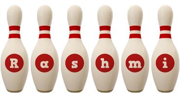 Rashmi bowling-pin logo