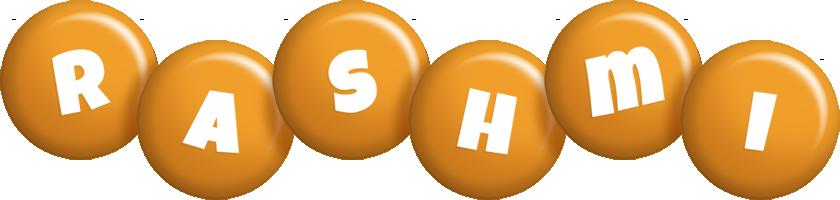 Rashmi candy-orange logo