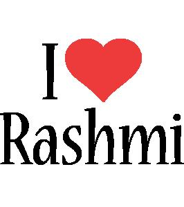 Rashmi i-love logo
